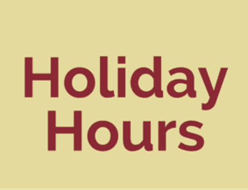2017 Holiday Closures